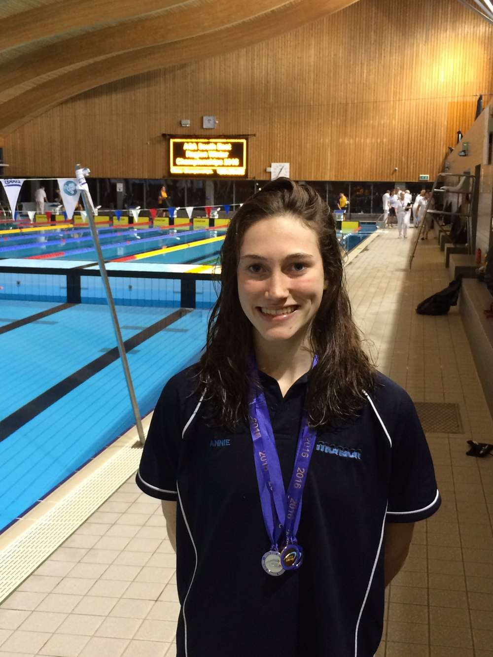 Winter Regionals success for Annabel