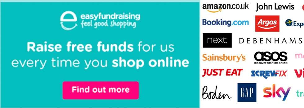 Raise funds whilst you shop...